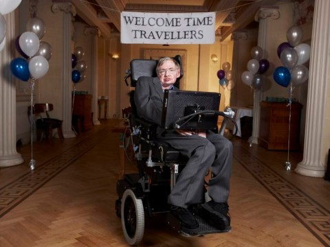Time travellers invited to Professor Stephen Hawking's party – it'll be in 2009