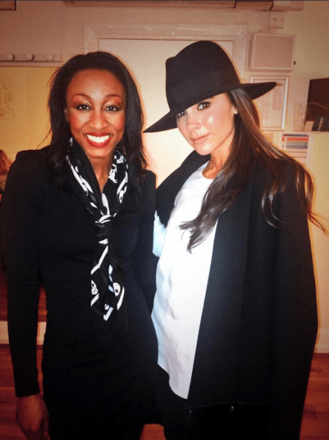Beverley Knight 'well chuffed' by Victoria Beckham's support