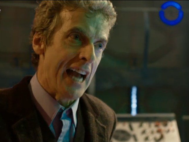 Peter Capaldi has been allowed to keep his Scottish accent for Doctor Who (Picture: BBC)