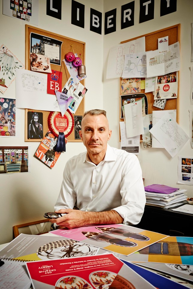 Liberty of London, Channel 4: MD, Ed Burstell, wants to super-size Christmas