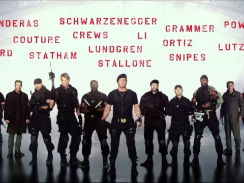 First Expendables 3 teaser trailer doesn't have any explosions