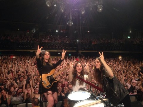 Haim post spectacular comeback in Los Campesinos! Twitter war