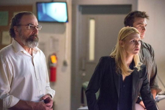 Homeland, series three, episode 10, Good Night: Saul's plan is about to go horribly wrong (Picture: Kent Smith/Showtime)