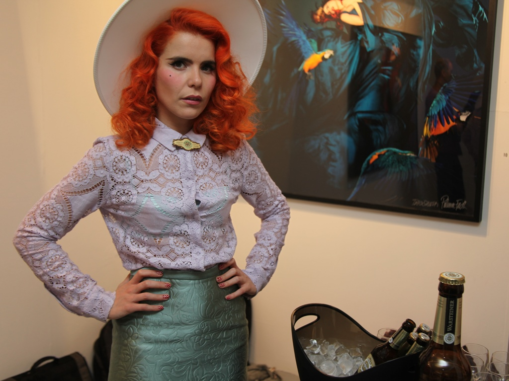 Paloma Faith has spoken out about claims she lies about her age (Picture: Ivan Pierson)