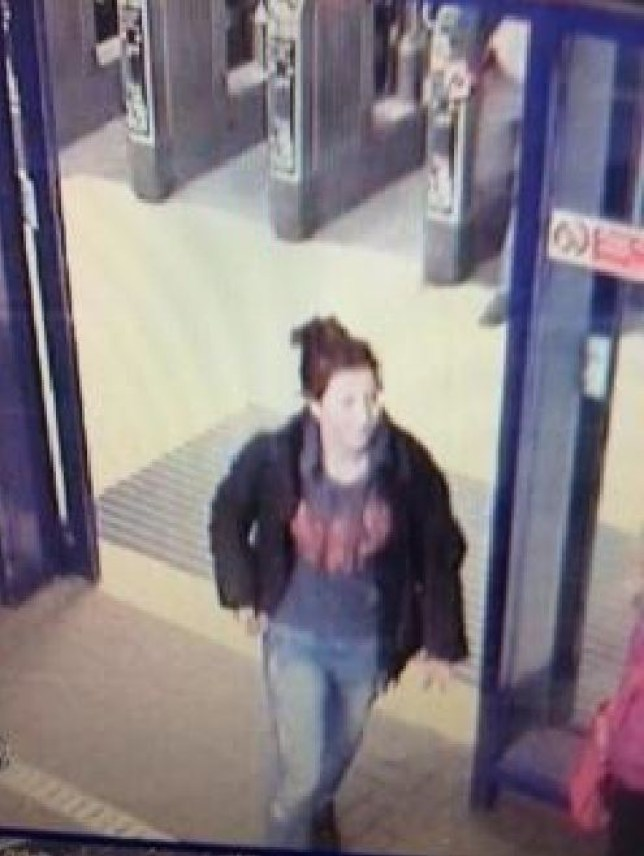 Police have released a CCTV image of the last known sighting of missing teen Jayden Parkinson (Picture: Thames Valley Police)