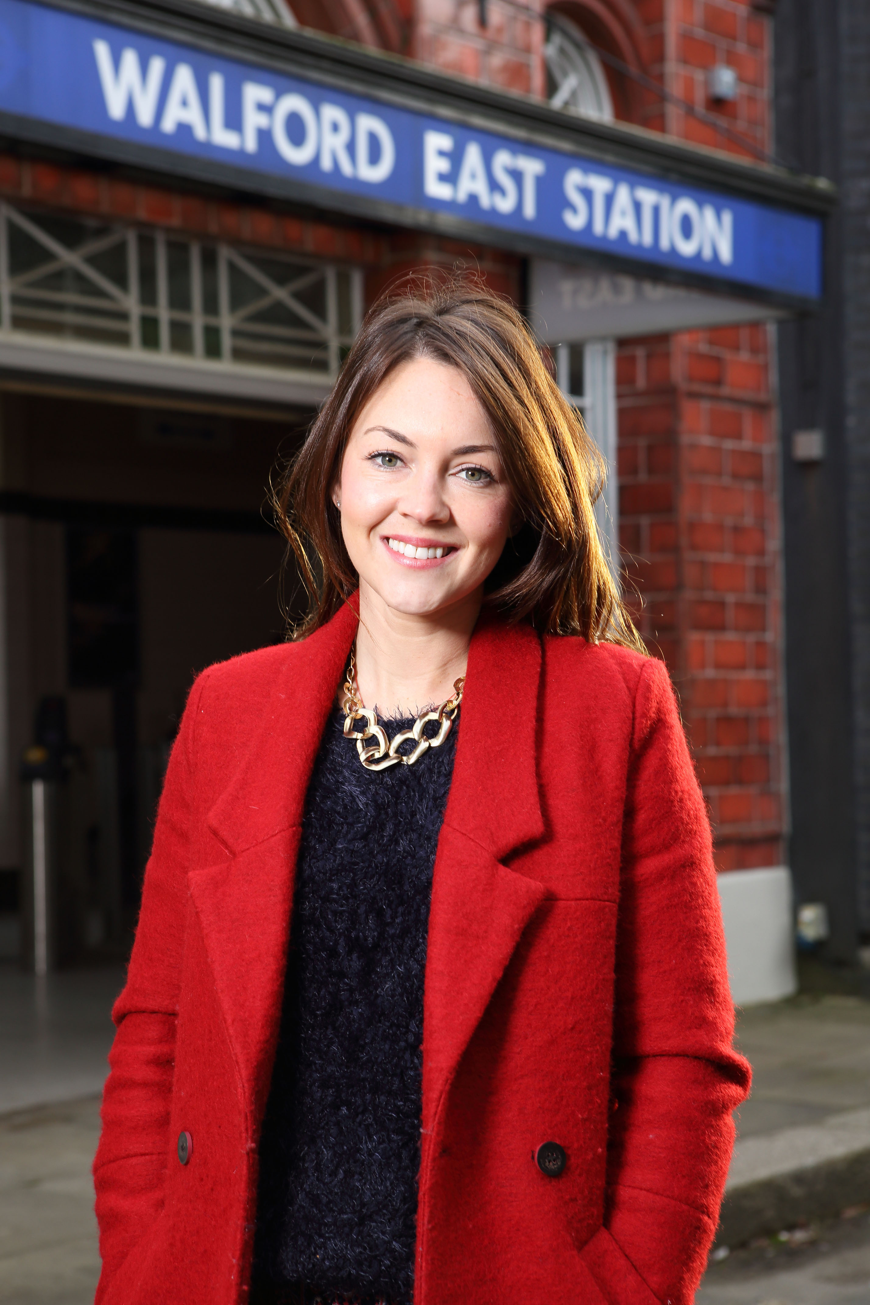 Stacey  Branning is back in Eastenders (played by Lacey Turner)