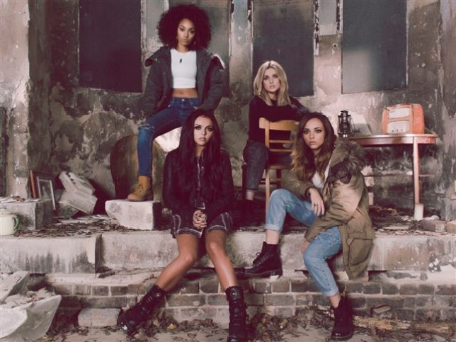 Little Mix have released the video for their new song Little Me (Picture: Jay McLaughlin)
