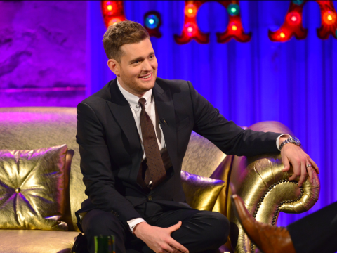 Michael Buble reveals his wife plans to kill him if she ever caught him cheating