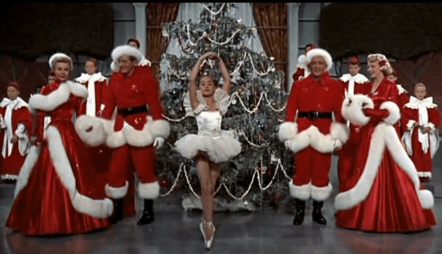 Best Christmas song: Christmas isn't complete without matching Santa outfits featured in White Christmas