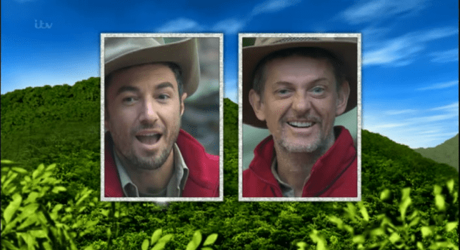 I'm A Celebrity - Vincent Simone and Matthew Wright