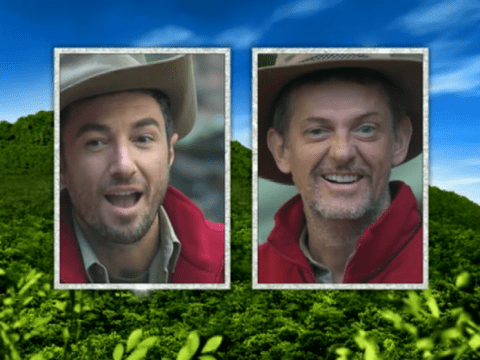 Vincent Simone and Matthew Wright voted out of I'm A Celebrity 2013