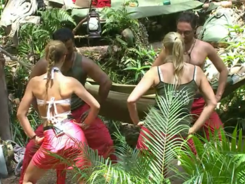 I'm a Celebrity 2013, Tuesday night's show – the Carlton dance lifts spirits but Matthew Wright and Vincent Simone are out