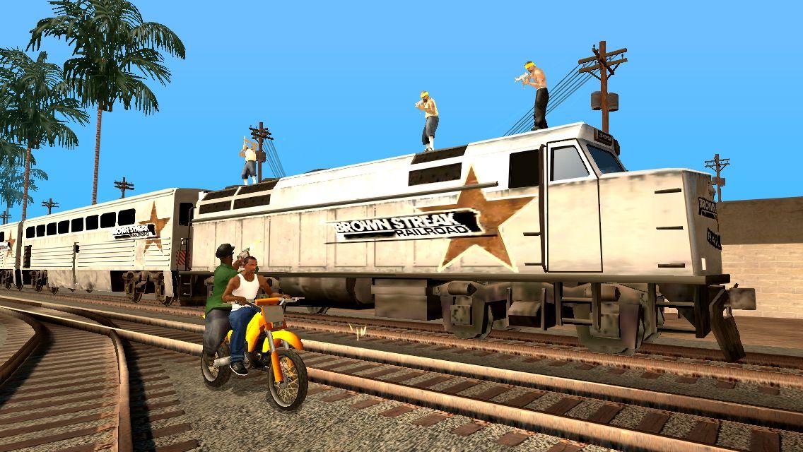 Grand Theft Auto: San Andreas (iOS) - GTA V's daddy