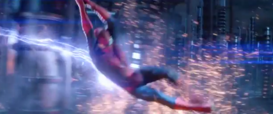 Peter Parker is set to fight it out with three villains in The Amazing Spider-Man 2 (Picture: Sony Pictures)