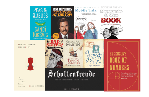From Morecambe & Wise to Bad Santa, books that are ideal stocking fillers this Christmas