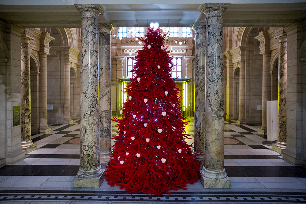 The most fashionable Christmas trees of 2013