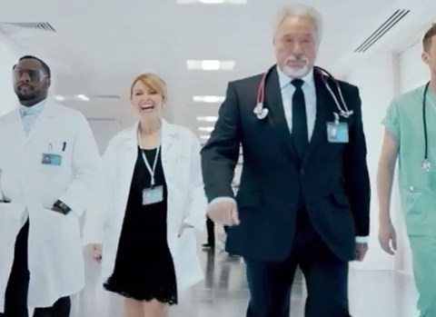 'That baby's dope': Creepy singing babies and Ricky Wilson in scrubs in mad first trailer for The Voice 2014