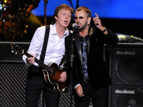 Beatles Paul McCartney and Ringo Starr WILL join forces for Grammys special