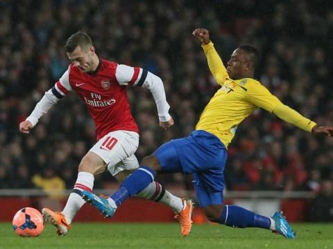 Jack Wilshere injury stunts Arsenal preparation for Southampton