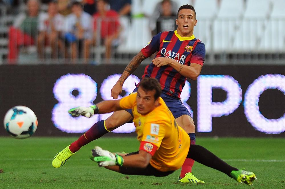 Cristian Tello gives Liverpool hope of summer move