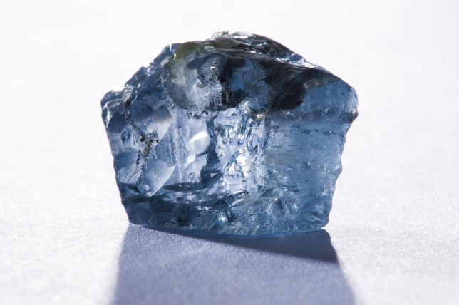 Rare blue diamond discovered in South Africa's Cullinan mine