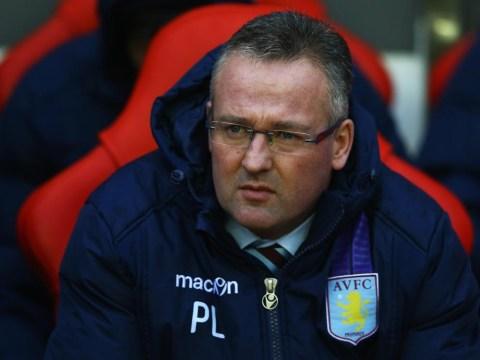 Aston Villa boss Paul Lambert admits he fears the sack