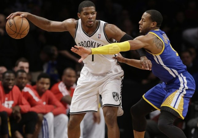 Joe Johnson, left, is a star of the Brooklyn Nets team (Picture: AP)