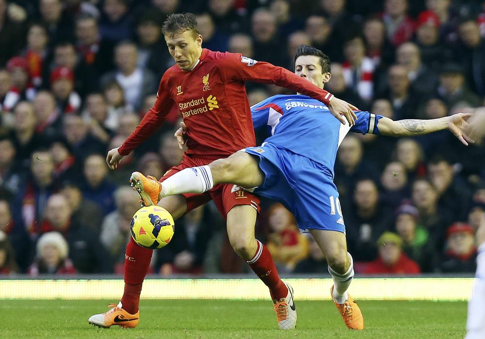 Liverpool must sign replacement for the injured Lucas or risk putting too much strain on a shaky defence