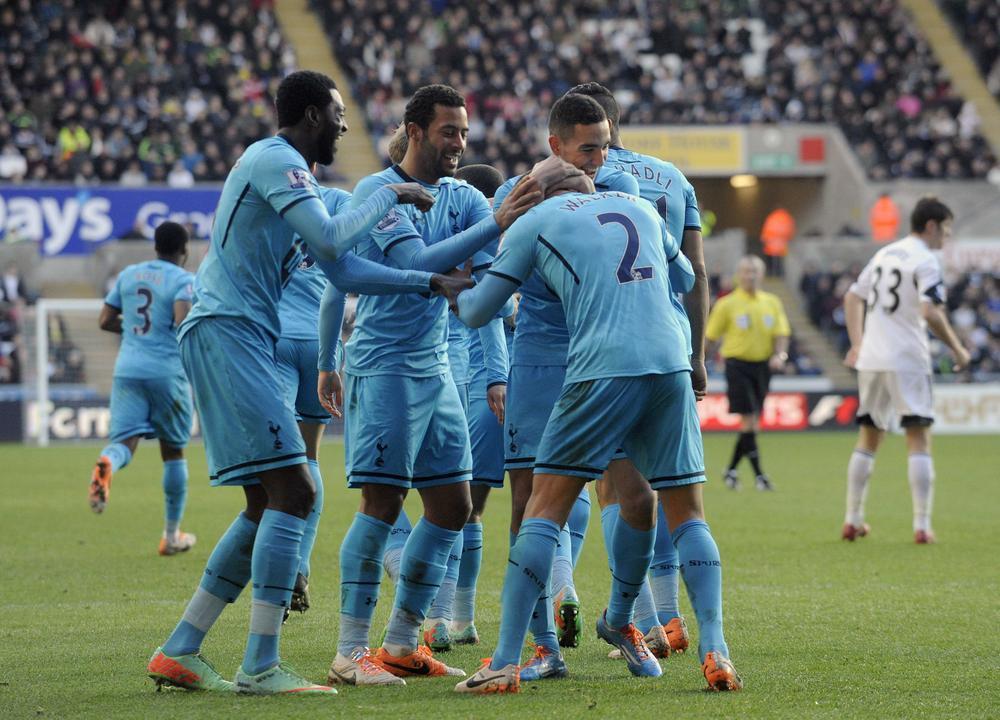 Emmanuel Adebayor and Christian Eriksen lead the way as Tim Sherwood's Spurs win again