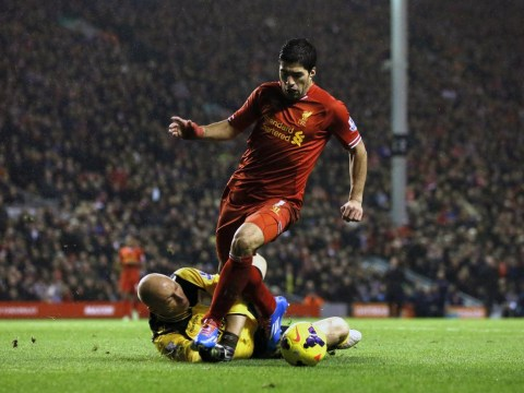 Luis Suarez cheated and needs to examine his conscience after Liverpool mugged Aston Villa