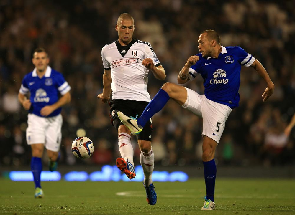 Philippe Senderos' Fulham exit sees Johnny Heitinga join from Everton