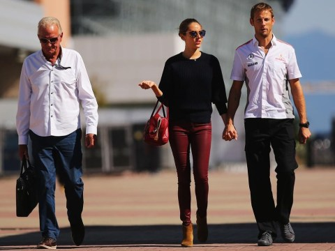 Jenson Button's father, John, dies of a suspected heart attack
