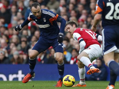 Dimitar Berbatov fails to win over Arsenal fans – and makes few friends at Fulham – in display at the Emirates