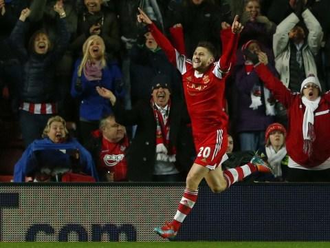 Adam Lallana's strike frustrates Arsenal as Southampton grab draw