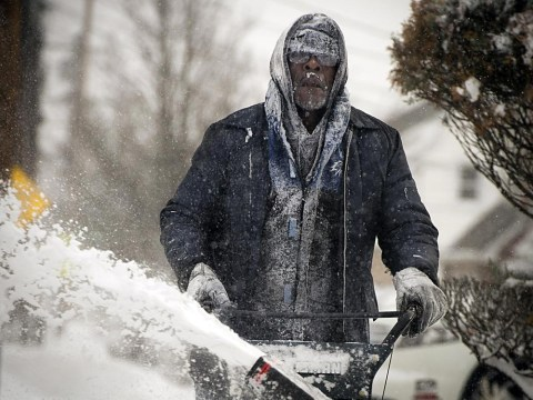 Pictures: Snow-draped New York as north-east US prepares for worst chill in decades