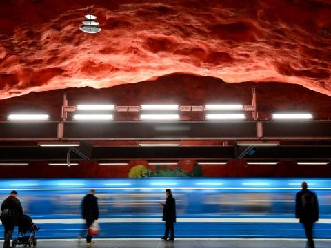 Gallery: Unique Stockholm underground art best in the world