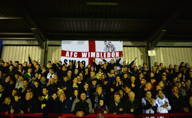 AFC Wimbledon v Coventry City - FA Cup First Round