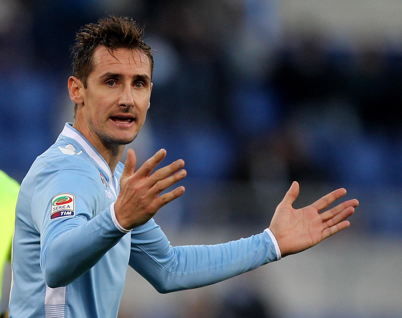 Miroslav Klose 'left upset as deadline day Arsenal transfer collapses'