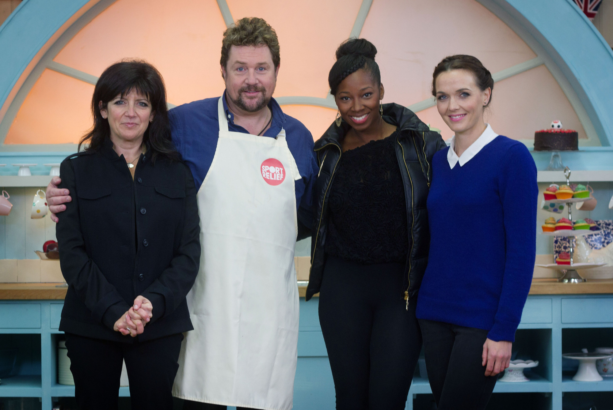 Great Sport Relief Bake Off 2014, episode three: Michael Ball declares his love for Mary Berry