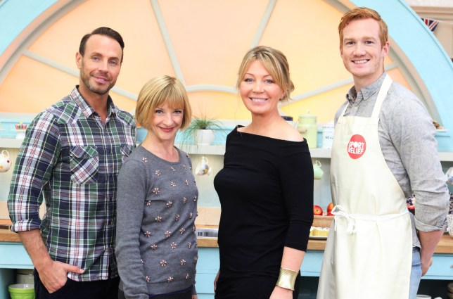 Great Sport Relief Bake Off: Jason Gardiner, Jane Horrocks, Kirsty Young, Greg Rutherford