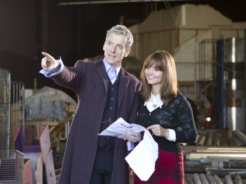 Jenna-Louise Coleman: Peter Capaldi is wonderful as Doctor Who