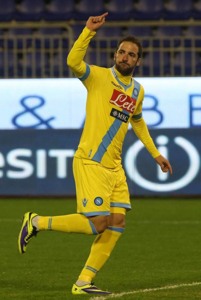 Gonzalo Higuain has been in fine form for Napoli (Picture: AFP/Getty)