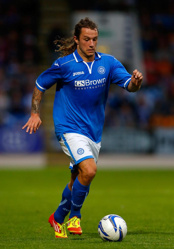 St Johnstone's Stevie May could be on the verge of making it big in England