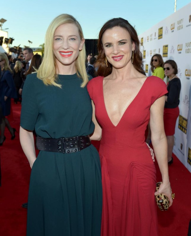 Cate and Juliette both looked great the Critics' Choice Movie Awards last night (Picture: John Shearer/Invision/AP)