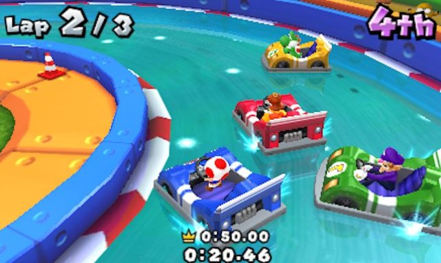 Mario Party: Island Tour (3DS) - not quite Mario Kart