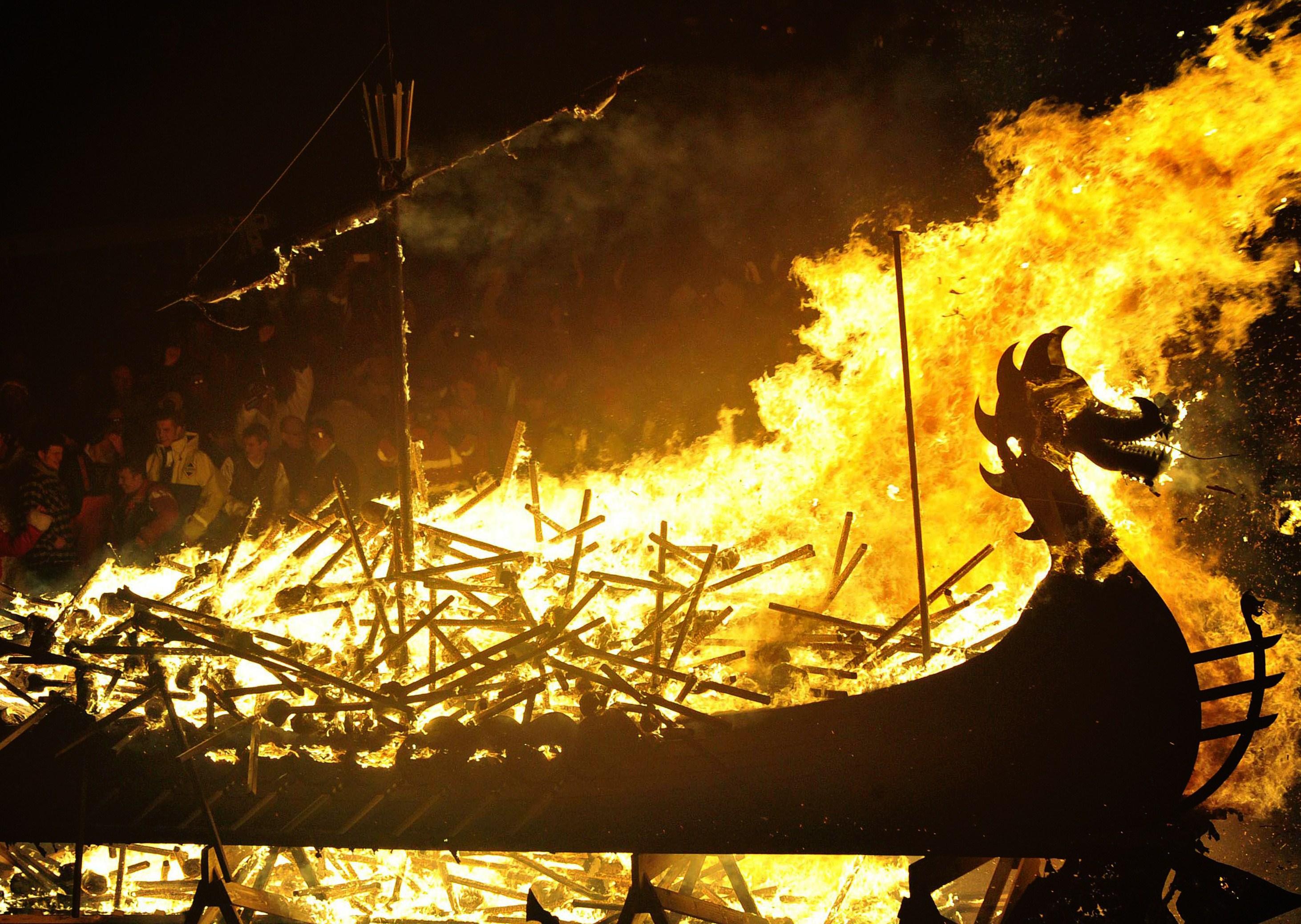 Gallery: Up Helly AA Fire Festival on Shetland