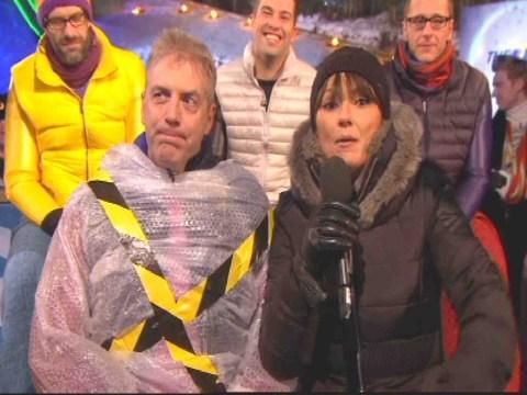 The Jump 2014: Viewers baffled as Donal MacIntyre replaces injured Melinda Messenger