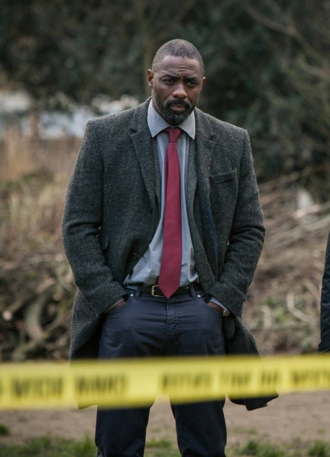 Idris Elba as Luther in Luther