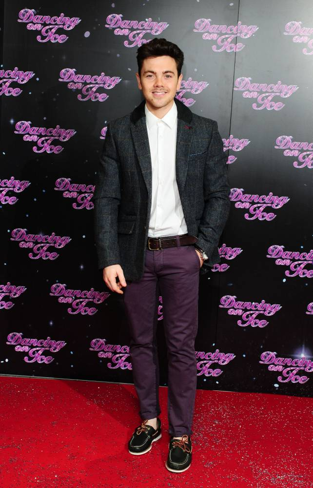 Ray Quinn at the launch of Dancing On Ice 2014