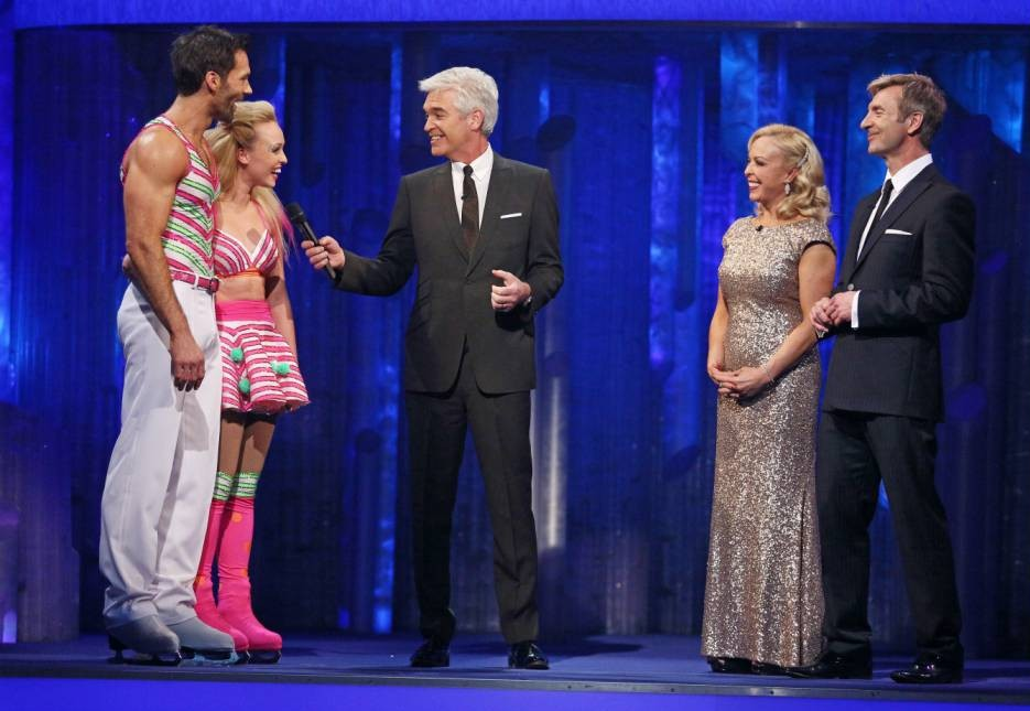 Dancing On Ice fans complain to Ofcom about Phillip Schofield's jibes at Sylvain Longchambon